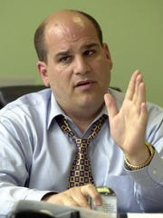 Mount Vernon Deputy Police Commissioner Joe Spiezio in a 2003 photo