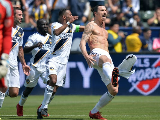 USP MLS: LOS ANGELES FC AT LOS ANGELES GALAXY S SOC LAG LAF USA CA