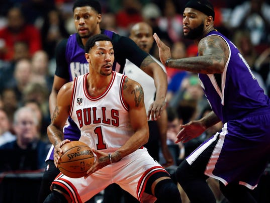 USP NBA: SACRAMENTO KINGS AT CHICAGO BULLS S BKN USA IL