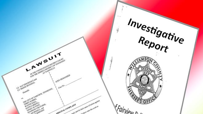 The City of Fairview received the long-awaited report on the police department investigation, followed by a federal lawsuit.