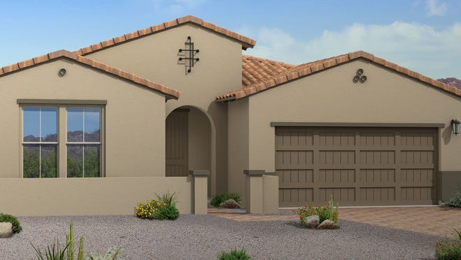 Here is a rendering of the Goodyear home that will be donated.