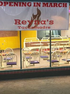 Reyna's Taconmadre now at Sunset Mall