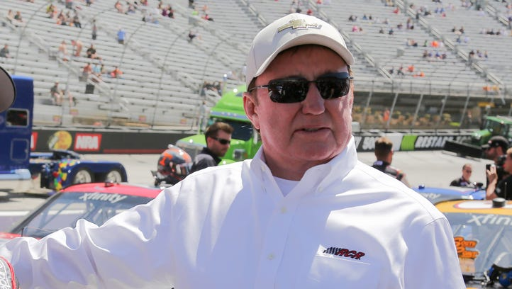 Team owner Richard Childresss hopes he doesn't get too emotional when he is inducted into the NASCAR Hall of Fame Friday night.