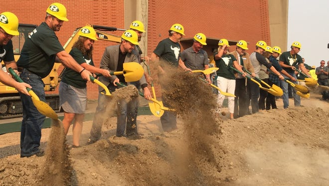 GFPS kicked off new construction work at C.M. Russell High on Wednesday, Sept. 13, 2017.