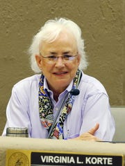 """Scottsdale Councilwoman Virginia Korte, a supporter of a non-discrimination law, says, """"At this point it has been tabled."""""""