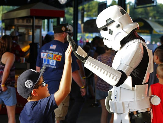 Star Wars night at Blue Claws
