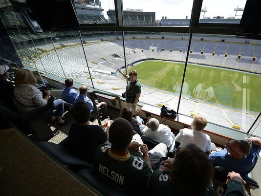 GPG Lambeau Field fan tours