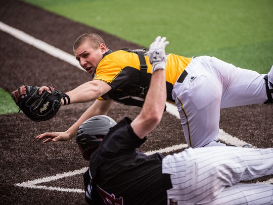 Catcher Daulton Varsho was named the Horizon League