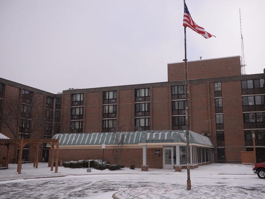 The South Washington Park housing complex in Lansing