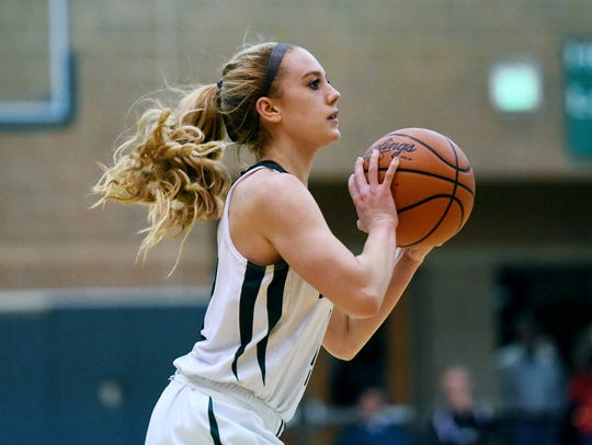 Maddie Watters set a school single-game scoring record