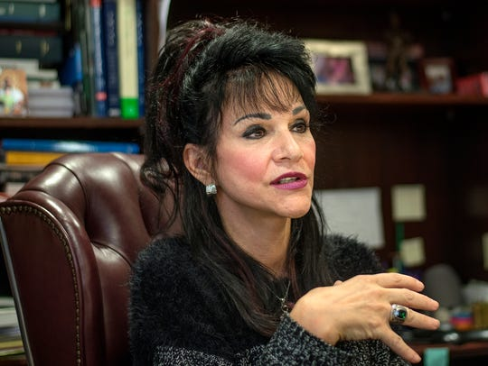 Ingham County Circuit Judge Rosemarie Aquilina talks