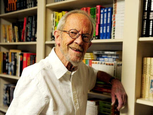 Elmore Leonard celebrates his 87th Birthday