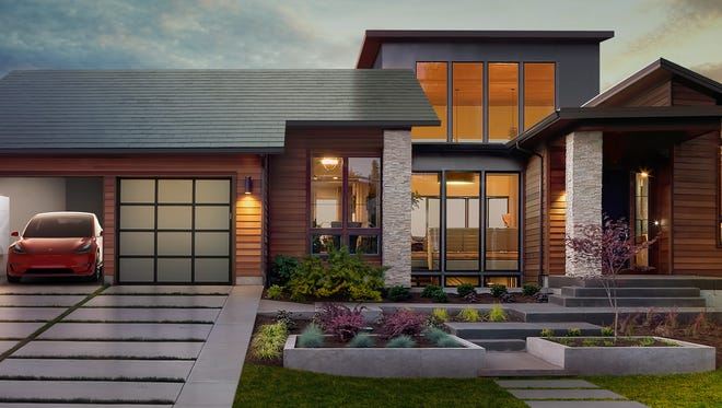 Tesla is now taking preorders for its Solar Roof, and has a Powerwall battery to store excess energy to use at night or as backup power.