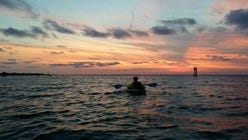 Just one of the beautiful views you can catch with Pensacola PaddleSport.
