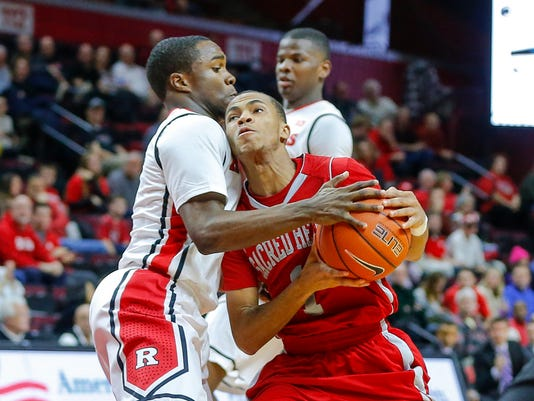 NCAA Basketball: Sacred Heart at Rutgers