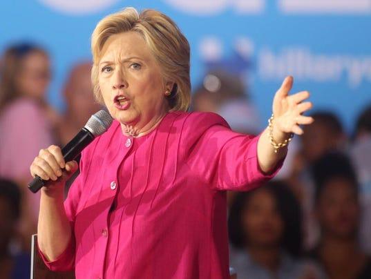 Clinton in Harrisburg