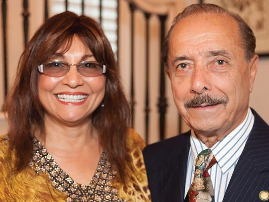Dr. Walter and Lalita Janke, recipients of  the Outstanding