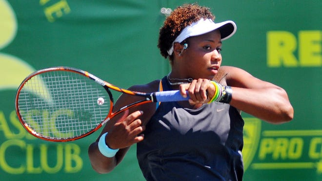 Taylor Townsend won the 2014 Pro Tennis Classic at Kiwi Tennis Club in Indian Harbour Beach, then went on to make the Round of 32 at the French Open.