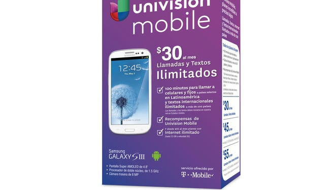 Univision Mobile box