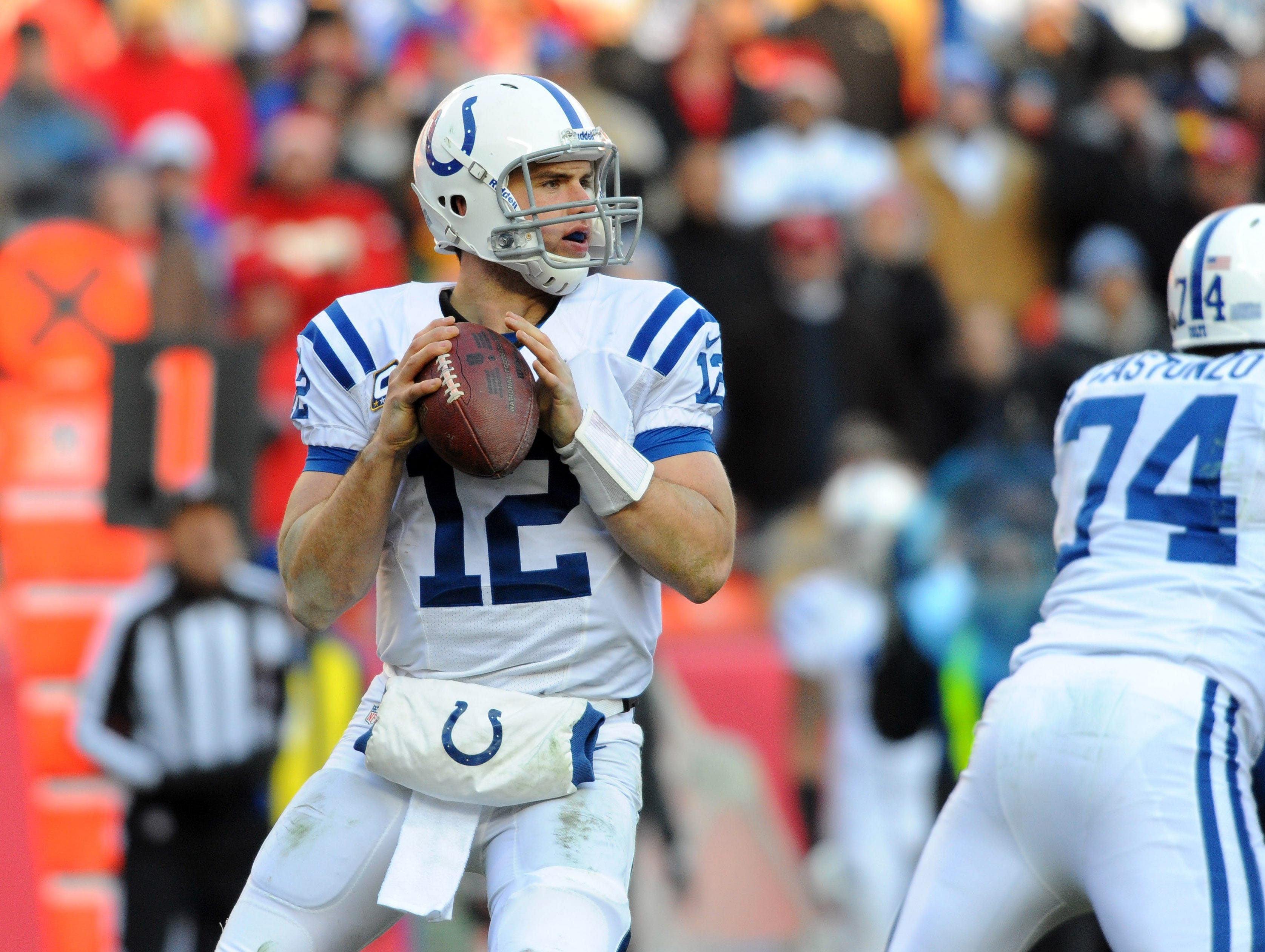 9. Andrew Luck, Indianapolis Colts