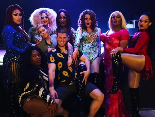 Drag queen show Queen City performs for the first time