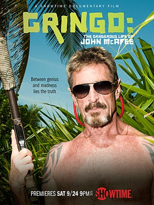 Showtime's documentary on John McAfee has several explosive charges, including two murders.