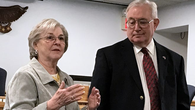 Chemung County Legislature Chair Donna Draxler announces her retirement Monday, along with an endorsement of Michael S. Smith as her successor in the 14th District.