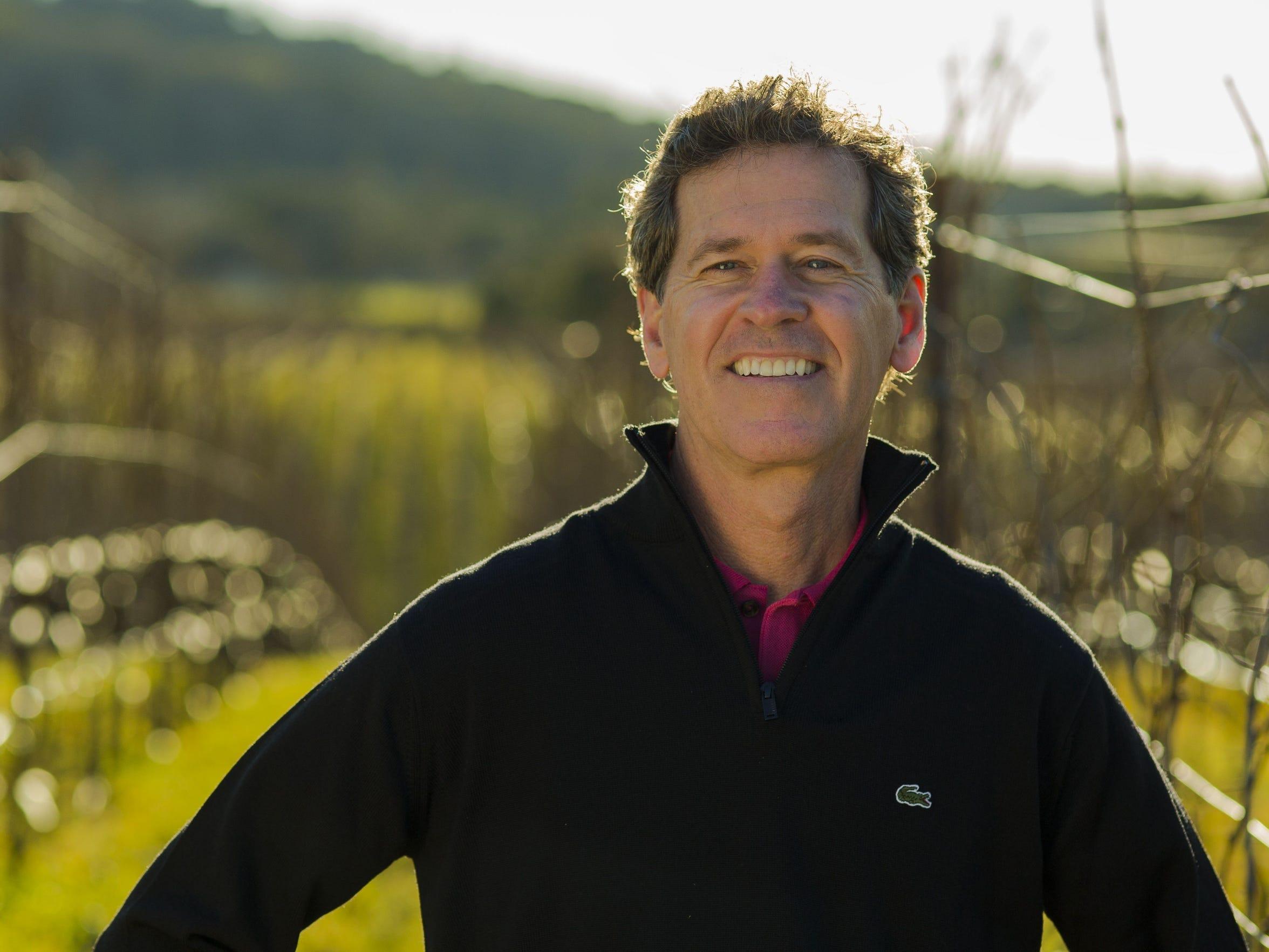 International wine investor Paul Hobbs, of Paul Hobbs
