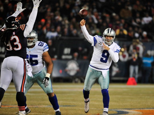Where does the polarizing Tony Romo rank on USA Today's list of the top 100 Dallas Cowboys of all time?