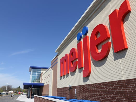 Meijer, which opened its new store at 5800 W. Layton