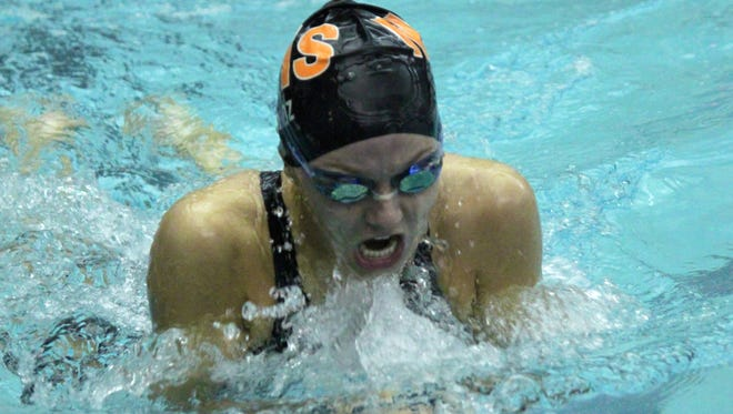Northville's Darby Mroz was instrumental in the Mustangs winning the Kensington Conference title.