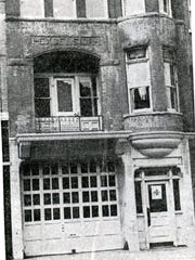The Water Street Fire Station  in 1954.