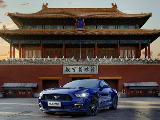 In 2017, Beijing, Shanghai, and Hangzhou led Mustang