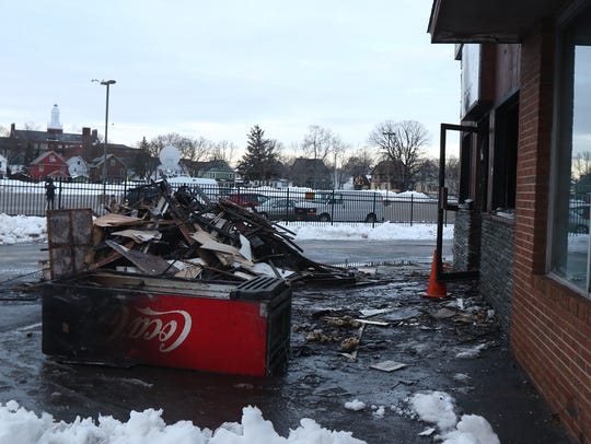 An early morning fire caused heavy damage to 3 Latinos