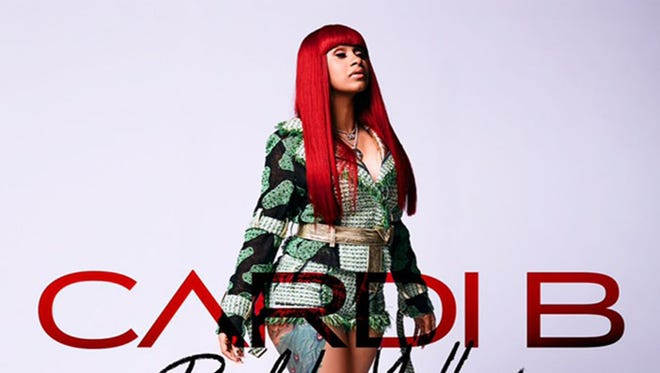 """Cardi B's No. 1 smash """"Bodak Yellow"""" made the Bronx native a breakout star in the year that hip-hop and R&B overtook rock as the country's biggest genre."""