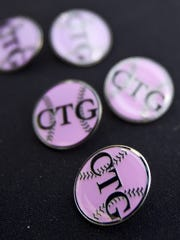Commemorative Christina-Taylor Green pins on sale at