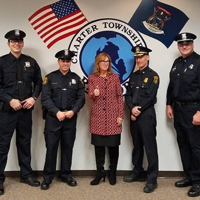 Two cops join Redford force, another is promoted
