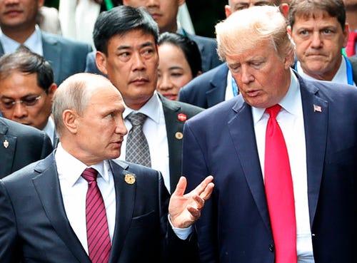 Donald Trump invites Russian President Vladimir Putin to White House