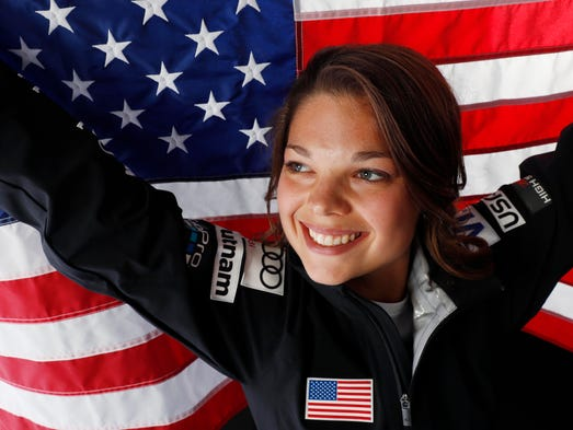 Aerials skier Ashley Caldwell is the reigning women's