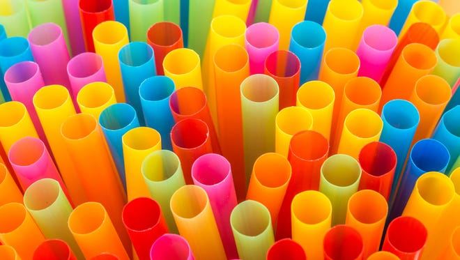Plastic straws: Size matters, especially when it comes to recycling. Anything smaller than two inches in diameter typically falls through the cracksof thecity's recycling machinery and cannot be recycled.