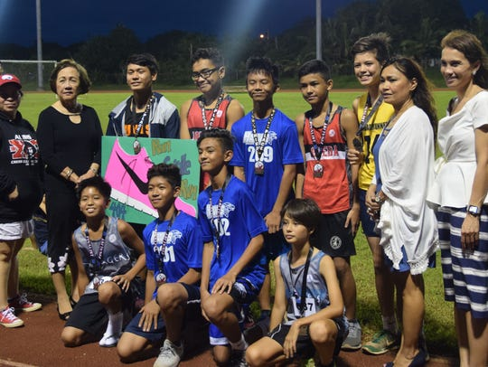 The top 10 boys in the Guam Department of Education