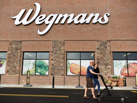 The grand opening of Wegmans in Hanover was held on