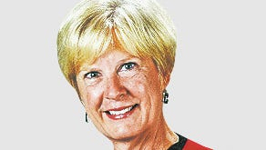 Betty Parker, columnist, Parker on Politics