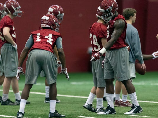 Alabama Football Spring Practice Day 1