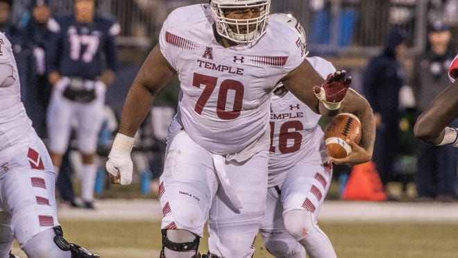 Akron native and Firestone graduate Jovahn Fair, a free-agent guard who played at Temple, signed with the Browns on Monday after being released by the Kansas City Chiefs.
