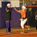 Northwestern State's Cassandra Barefield is the school's all-time home run leader.