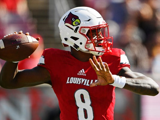 NCAA Football: Boston College at Louisville