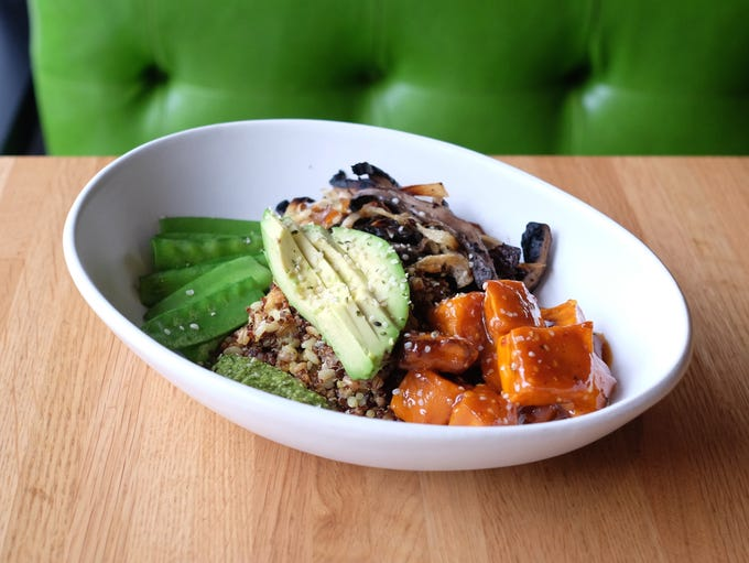 The ancient grains bowl at True Food Kitchen.