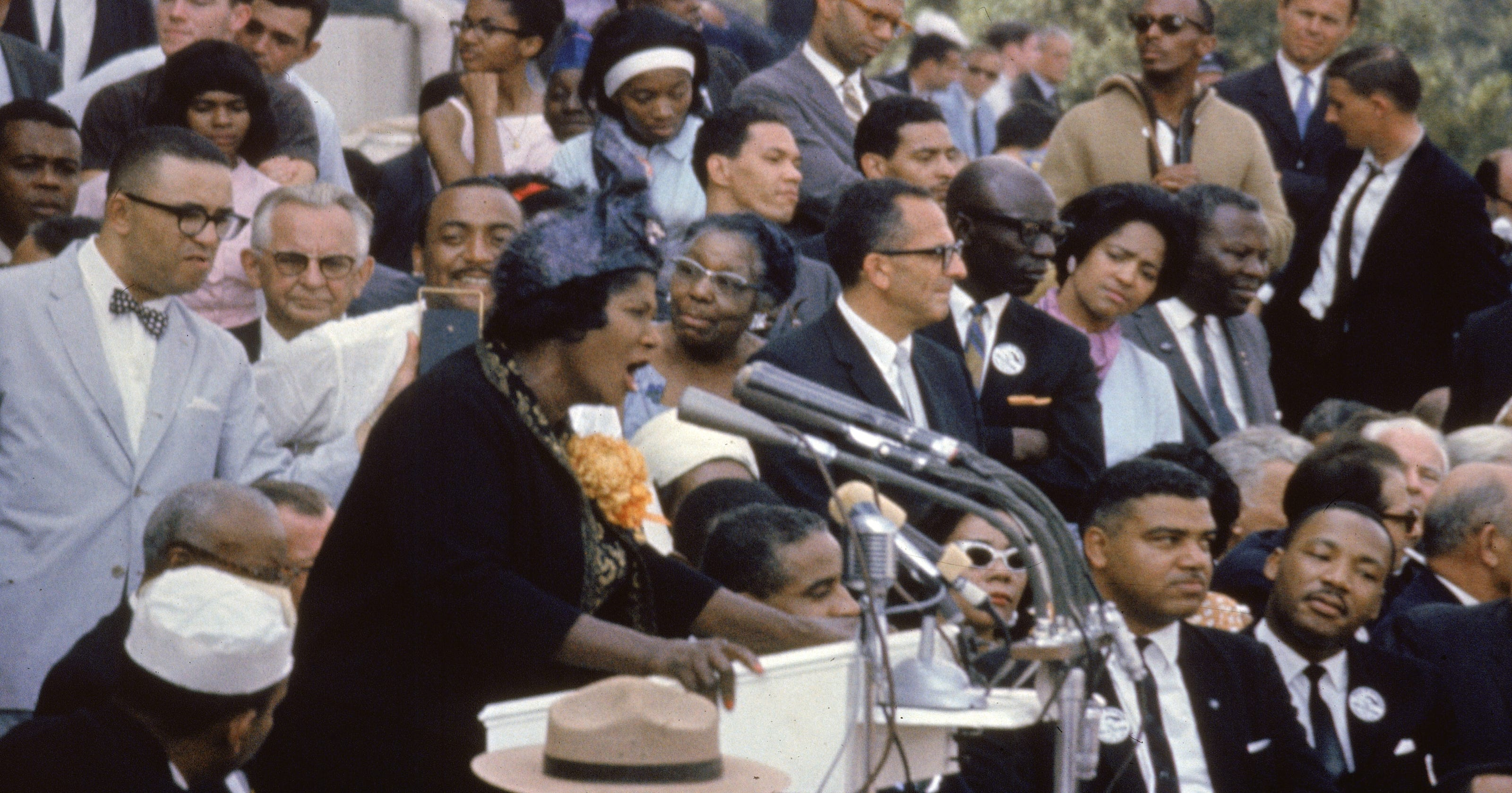 Race and harmony: Songs tied to the March on Washington