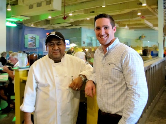 Executive Chef Hector Hidalgo and General Manager James